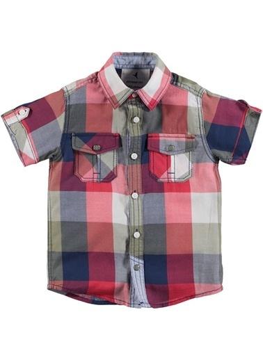 Asymmetry Gömlek Kırmızı